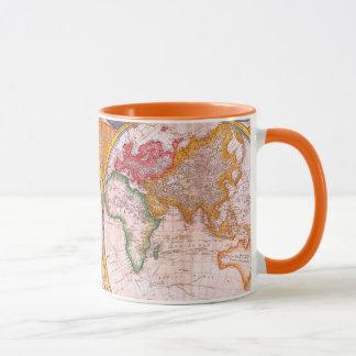 Vintage World Map Mug