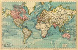 World Map Tie.World Map Ties Zazzle