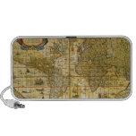 Vintage World Map Travelling Speaker