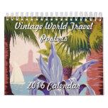 Vintage World Travel Posters 2016 Calendar