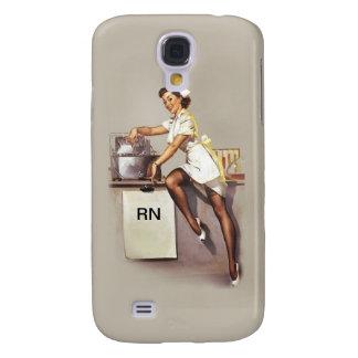 Vintage World War 2 PinUp Nurse Samsung Galaxy S4 Case