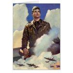 Vintage World War II Greeting Card