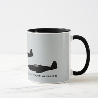 Vintage World War II North American P-51 Mustang Mug