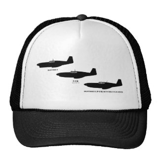 Vintage World War II North American P-51 Mustang Trucker Hat