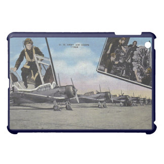 Vintage World War II Post Card Aviation Cover For The iPad Mini