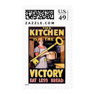 Vintage World War One Ration Poster Stamp