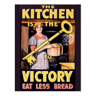 Vintage World War One Victory Poster Post Cards