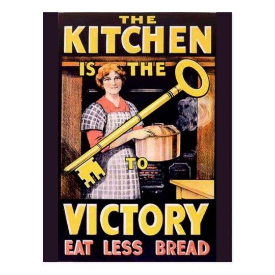 Vintage World War One Victory Poster Postcard