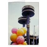 Vintage World's Fair Balloons Card