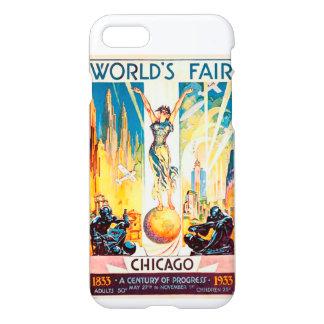 Vintage Worlds Fair Chicago 1933 iPhone 8/7 Case
