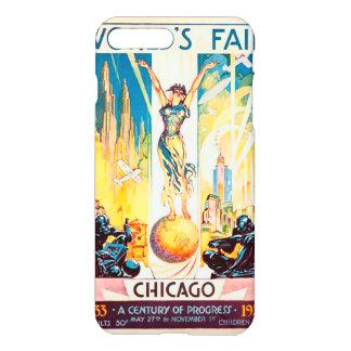 Vintage Worlds Fair Chicago 1933 iPhone 8 Plus/7 Plus Case