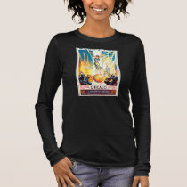 Vintage Worlds Fair Chicago 1933 Poster Long Sleeve T-Shirt