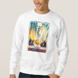 Vintage Worlds Fair Chicago 1933 Poster Sweatshirt
