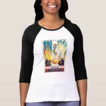 Vintage Worlds Fair Chicago 1933 Poster T-Shirt