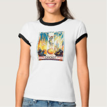 Vintage Worlds Fair Chicago 1933 Poster T-Shirt