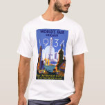 Vintage Worlds Fair Chicago 1934 T Shirt