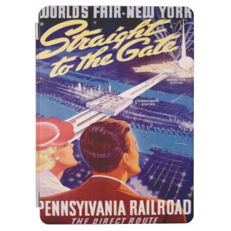 Vintage Worlds Fair New York 1939 Poster iPad Air Cover