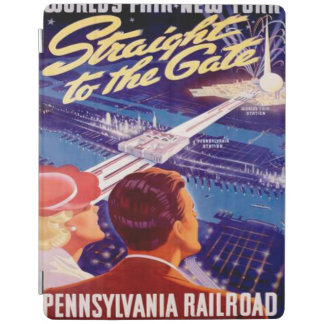 Vintage Worlds Fair New York 1939 Poster iPad Smart Cover