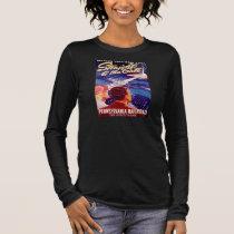 Vintage Worlds Fair New York 1939 Poster Long Sleeve T-Shirt