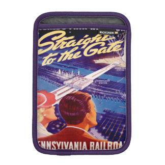 Vintage Worlds Fair New York 1939 Poster Sleeve For iPad Mini