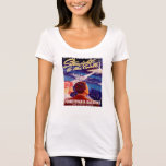Vintage Worlds Fair New York 1939 Poster T-Shirt