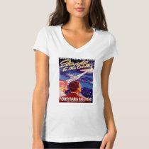 Vintage Worlds Fair New York 1939 Poster T-Shirt