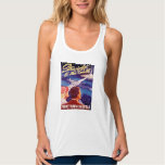 Vintage Worlds Fair New York 1939 Poster Tank Top