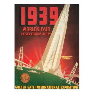 Vintage World's Fair San Francisco Post Cards