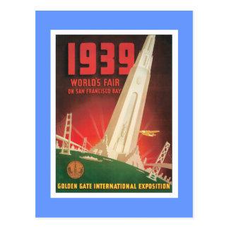 Vintage World's Fair San Francisco Postcards