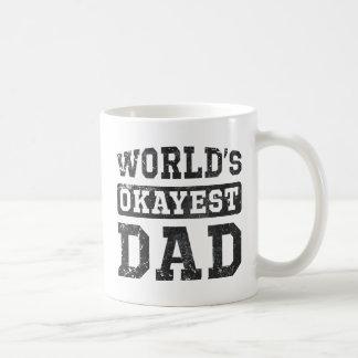 Vintage World's Okayest Dad Classic Mug