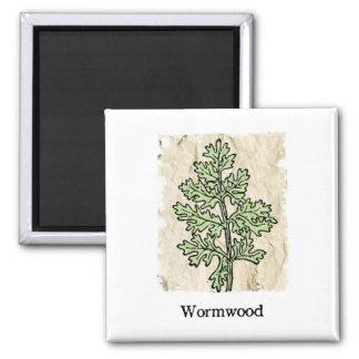 Vintage Wormwood Magnet
