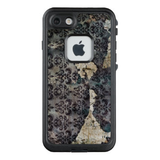 Vintage Worn and Abused Torn Wallpaper LifeProof FRĒ iPhone 7 Case