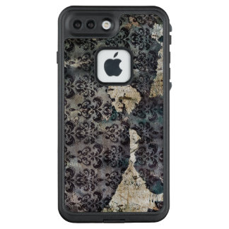Vintage Worn and Abused Torn Wallpaper LifeProof FRĒ iPhone 7 Plus Case
