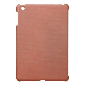 Vintage Woven Coral Book Cover 2 iPad Case