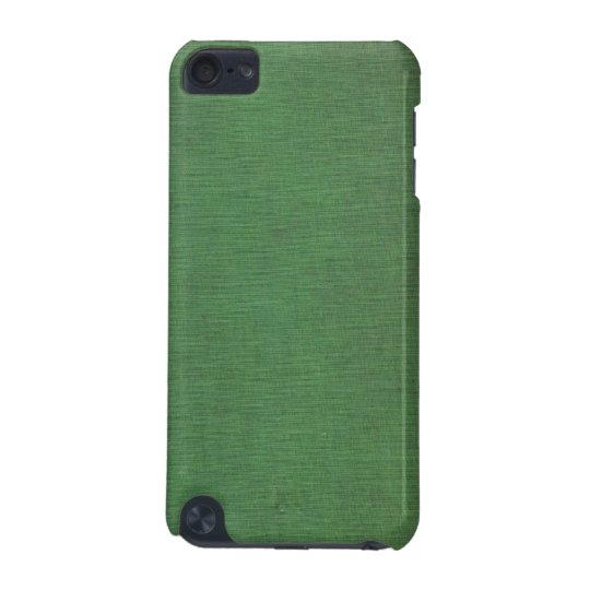 Vintage Woven Green Book Cover iPod Touch Case