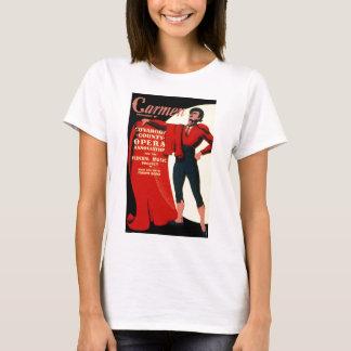 Vintage WPA Federal Music Project Opera Carmen T-Shirt
