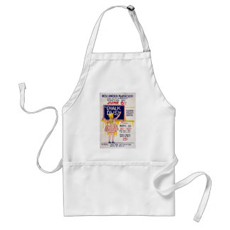 Vintage WPA Federal Theatre Project Hollywood Play Adult Apron