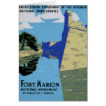 Vintage WPA Fort Marion Card