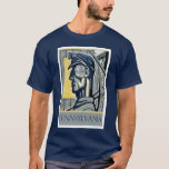 Vintage WPA Pennsylvania Miner T Shirt