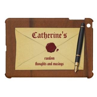 Vintage Writer Author Elegant iPad Mini Case Cover