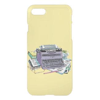 Vintage Writer's Tools Typewriter Paper Pencil iPhone 8/7 Case
