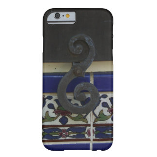 Vintage Wrought Iron Swirl Barely There iPhone 6 Case