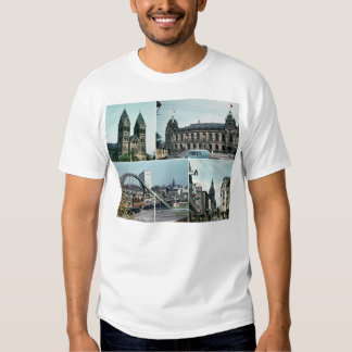 Vintage Wuppertal Photo Collage T Shirt