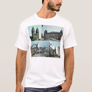Vintage Wuppertal Photo Collage T-Shirt