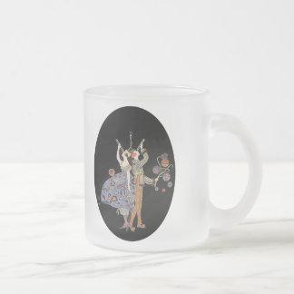 Vintage WW1 Art Deco Poster Adaptation 10 Oz Frosted Glass Coffee Mug