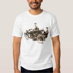 Vintage WW1 Motorcycle Machine Gunners Tee Shirt