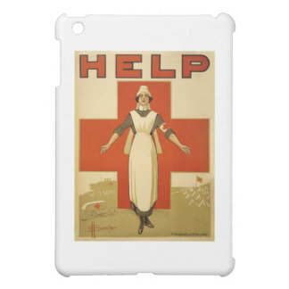 Vintage WW1 Red Cross Poster iPad Mini Cover