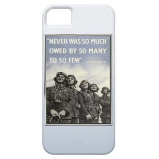 Vintage WW2 Churchill Quote Military Vets iPhone 5 Covers