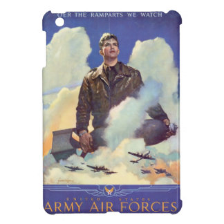 Vintage WWII Air Force Poster Design iPad Mini Cover