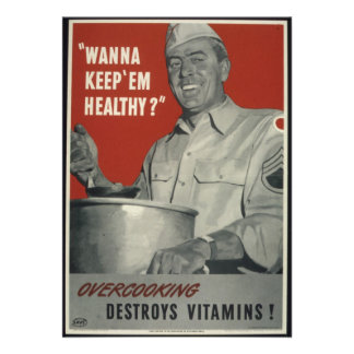 Vintage WWII american propaganda Custom Announcements